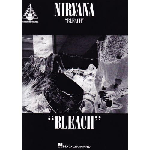 HAL LEONARD NIRVANA - BLEACH - GUITAR TAB