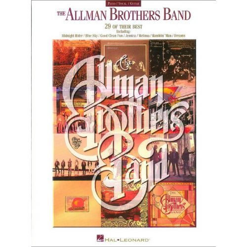 FABER MUSIC ALLMAN BROTHERS THE - THE COLLECTION - PVG