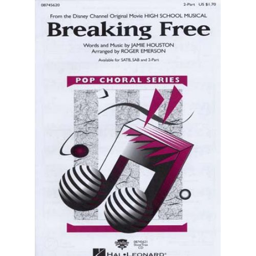 HAL LEONARD BREAKING FREE - HIGH SCHOOL MUSICAL - PIANO