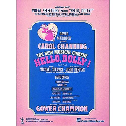 FABER MUSIC HERMAN JERRY - HELLO DOLLY! - VOICES