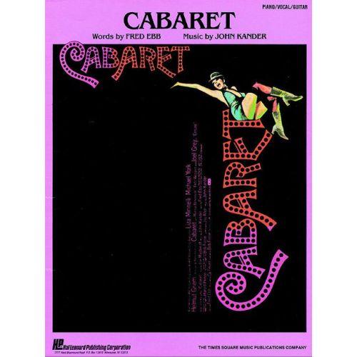 FABER MUSIC KANDER J / EBB F - CABARET - VOICES