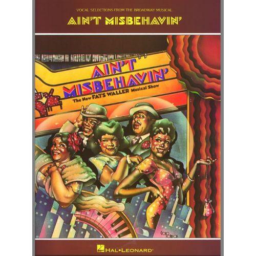 FABER MUSIC WALLER FATS - AIN'T MISBEHAVIN' - PVG