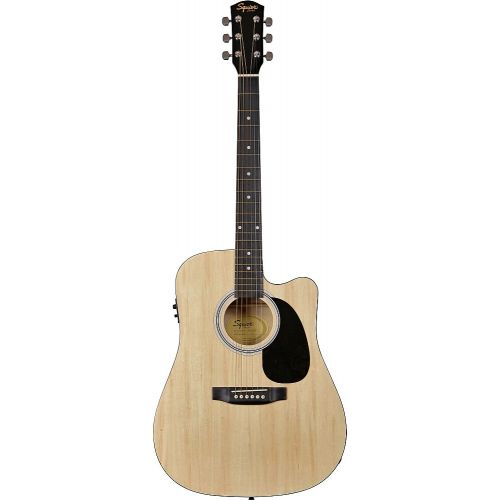 SQUIER BY FENDER SA-105CE NATURAL