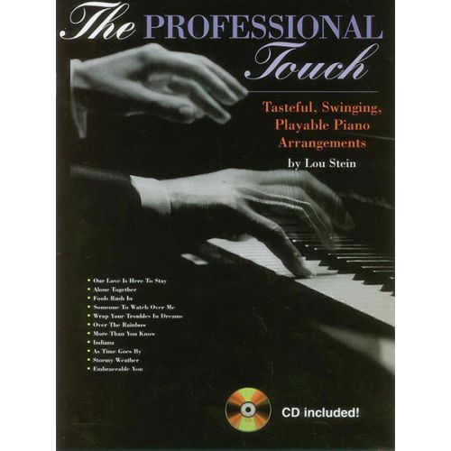 ALFRED PUBLISHING PROFESSIONAL TOUCH + CD - PIANO