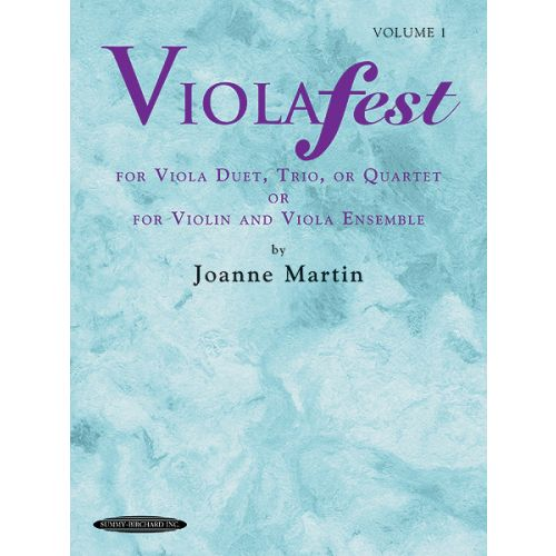 ALFRED PUBLISHING VIOLAFEST VOL 1 - VIOLA