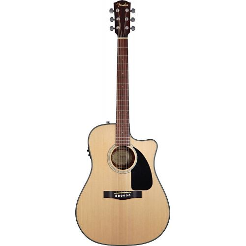 FENDER CD-100CE NATURAL V2