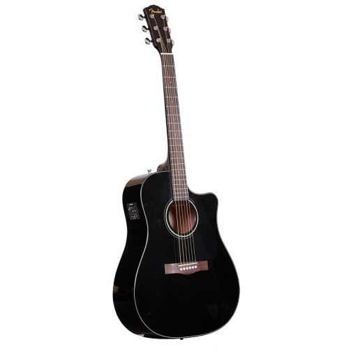 FENDER CD-60 CE BLACK V2