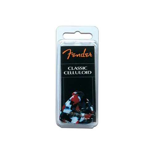 FENDER 351 SHAPE PICKS 12 PACK CONFETTI THIN
