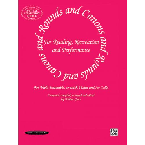 ALFRED PUBLISHING ROUNDS AND CANONS - VIOLA ENSEMBLE