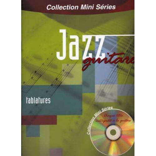 EMF MINI SERIES JAZZ + CD - GUITARE TAB