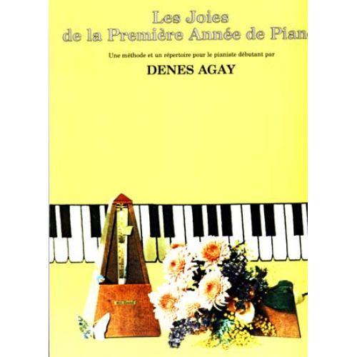 EMF JOIES DE LA PREMIERE ANNEE DE PIANO - DENES AGAY