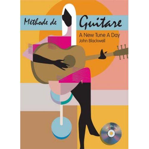 EMF A NEW TUNE A DAY - METHODE DE GUITARE + CD - JOHN BLACKWELL