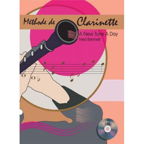 EMF A NEW TUNE A DAY - METHODE DE CLARINETTE + CD - NED BENNETT