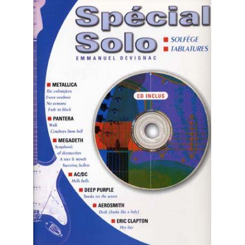 EMF DEVIGNAC EMMANUEL - SPECIAL SOLO GUITARE + CD