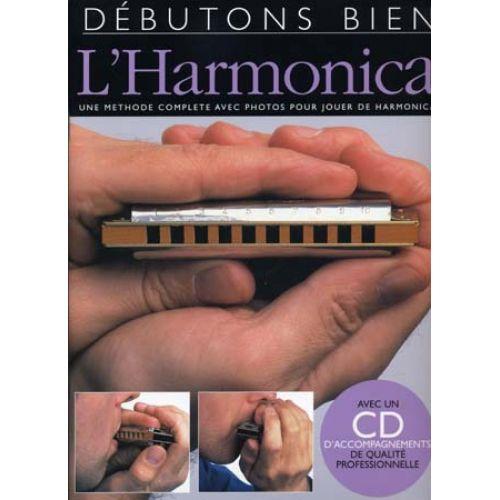 EMF DEBUTONS BIEN L'HARMONICA + CD