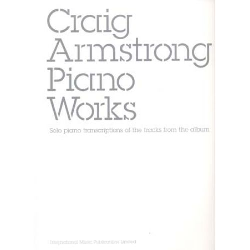 IMP ARMSTRONG CRAIG - PIANO WORKS
