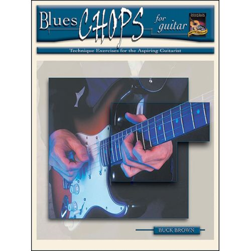 ALFRED PUBLISHING BROWN BUCK - BLUES CHOPS FOR GUITAR + CD - GUITAR