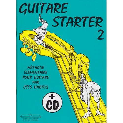 ALSBACH - EDUCA CEES HARTOG - GUITARE STARTER 2 + CD