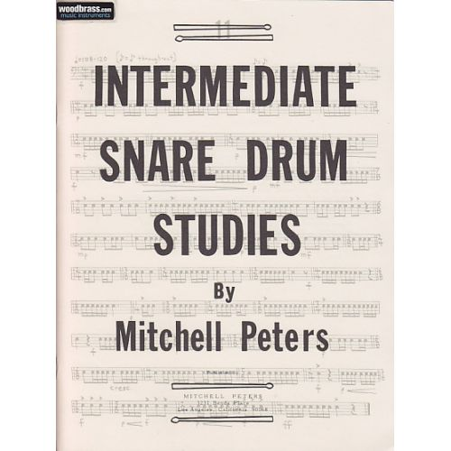 MITCHELL PETERS PETERS MITCHELL - INTERMEDIATE SNARE DRUMS STUDIES
