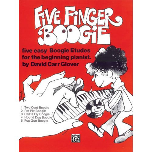 ALFRED PUBLISHING 5 FINGER BOOGIE - PIANO SOLO