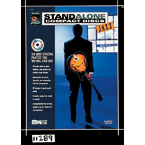 ALFRED PUBLISHING STAND ALONE JAZZ ,+ CD - GUITAR