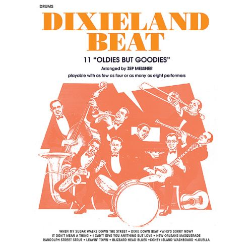 ALFRED PUBLISHING MEISSNER ZEPP - DIXIELAND BEAT - DRUMS