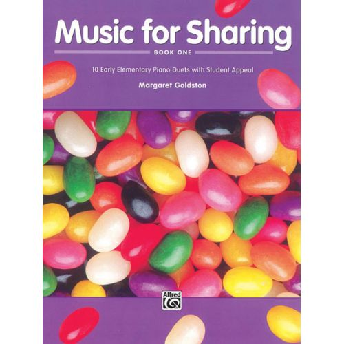 ALFRED PUBLISHING GOLDSTON MARGARET - MUSIC FOR SHARING BOOK 1 - PIANO DUET