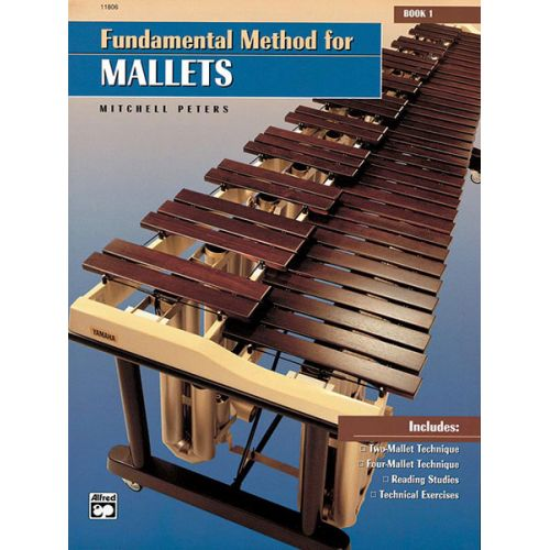 ALFRED PUBLISHING PETERS MITCHELL - FUNDAMENTAL METHOD FOR MALLETS BOOK 1 - PERCUSSION