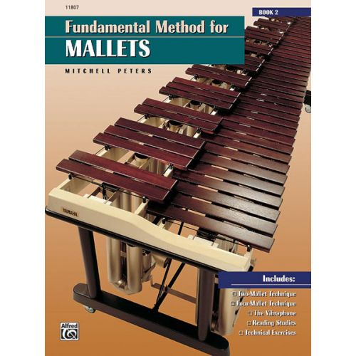 ALFRED PUBLISHING PETERS MITCHELL - FUNDAMENTAL METHOD FOR MALLETS BOOK 2 - PERCUSSION