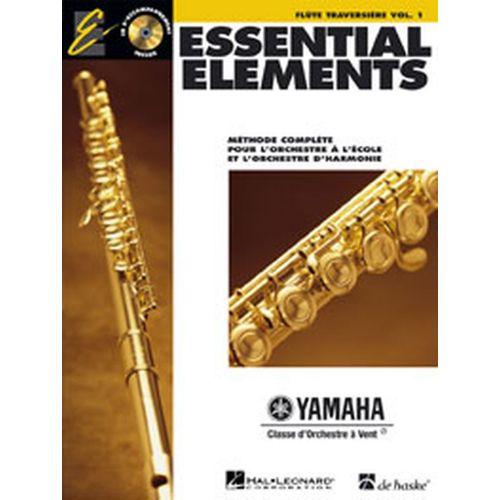 HAL LEONARD ESSENTIAL ELEMENTS VOL.1 + CD - FLUTE