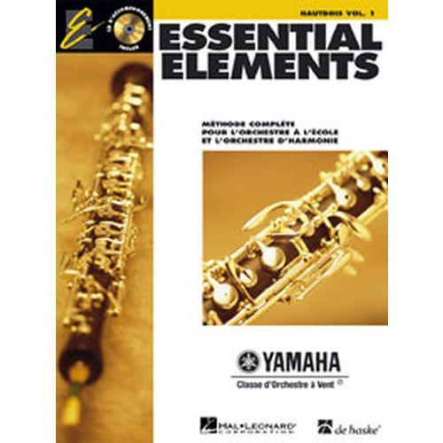 HAL LEONARD ESSENTIAL ELEMENTS VOL.1 + CD - HAUTBOIS