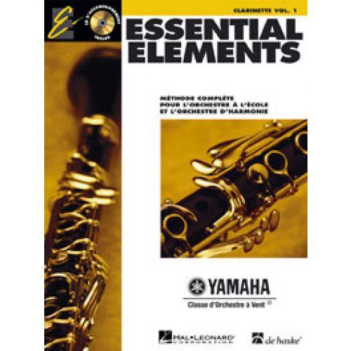 HAL LEONARD ESSENTIAL ELEMENTS VOL.1 + CD - CLARINETTE