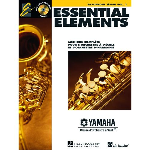 HAL LEONARD ESSENTIAL ELEMENTS - SAXOPHONE TENOR VOL.1 + CD