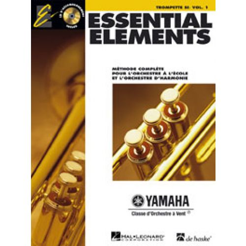 HAL LEONARD ESSENTIAL ELEMENTS VOL.1 + CD - TROMPETTE