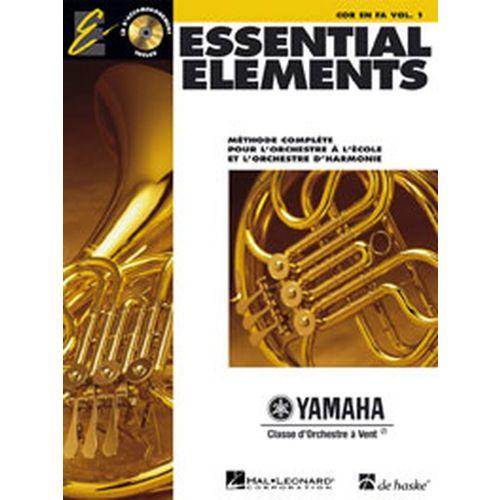 HAL LEONARD ESSENTIAL ELEMENTS VOL.1 + CD - COR EN FA