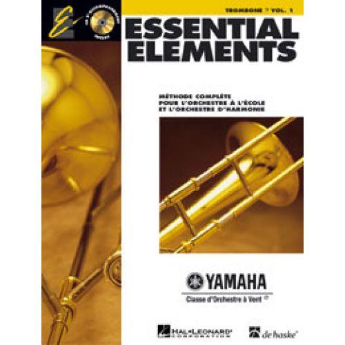 HAL LEONARD ESSENTIAL ELEMENTS 1 - TROMBONE CLE DE FA
