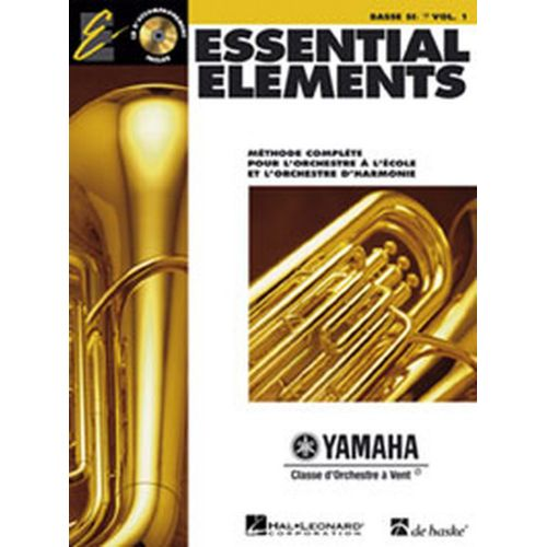 HAL LEONARD ESSENTIAL ELEMENTS VOL.1 + CD - TUBA