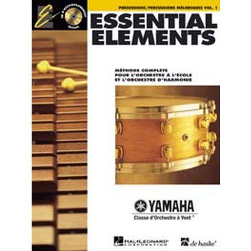 HAL LEONARD ESSENTIAL ELEMENTS VOL.1 + CD - PERCUSSION
