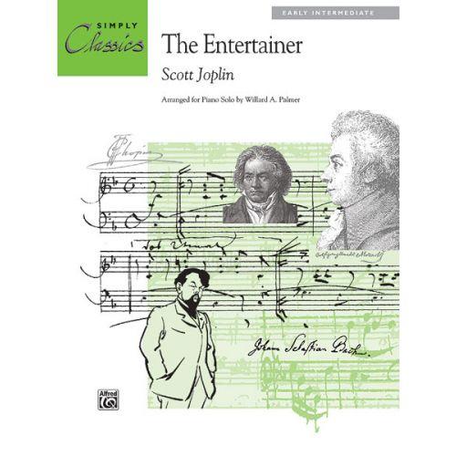 ALFRED PUBLISHING JOPLIN SCOTT - ENTERTAINER - PIANO SOLO