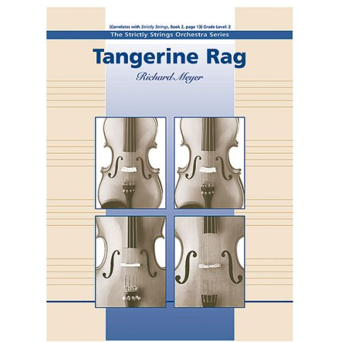 ALFRED PUBLISHING MEYER RICHARD - TANGERINE RAG - STRING ORCHESTRA