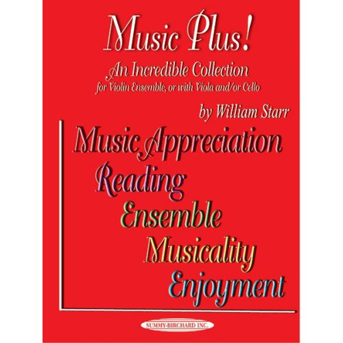 ALFRED PUBLISHING MUSIC PLUS! - VIOLIN ENSEMBLE