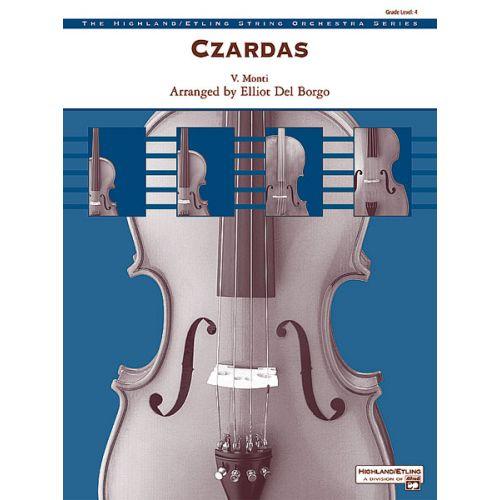 ALFRED PUBLISHING MONTI V. - CZARDAS - STRING ORCHESTRA