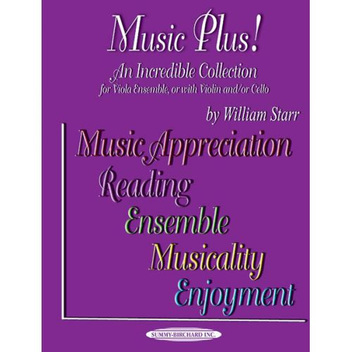 ALFRED PUBLISHING STARR WILLIAM - MUSIC PLUS! - VIOLA ENSEMBLE