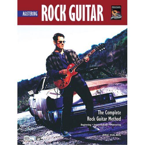 ALFRED PUBLISHING HALBIG ERIK - MASTERING ROCK GUITAR + CD - GUITAR