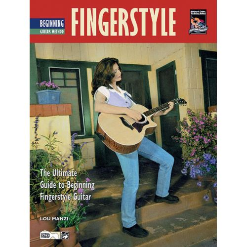 ALFRED PUBLISHING MANZI LOU - BEGINNING FINGERSTYLE GUITAR + CD - GUITAR