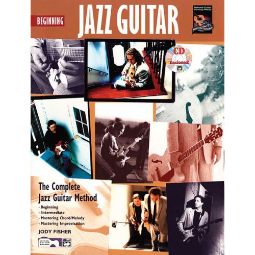 ALFRED PUBLISHING FISHER JODY - BEGINNING JAZZ GUITAR + CD - GUITAR