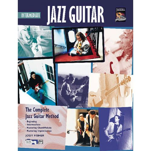 ALFRED PUBLISHING FISHER JODY - INTERMEDIATE JAZZ GUITAR + CD - GUITAR