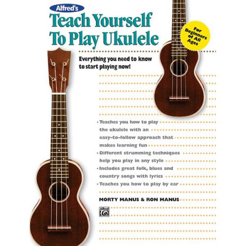 ALFRED PUBLISHING MANUS MORTON - TEACH YOURSELF TO PLAY - UKULELE