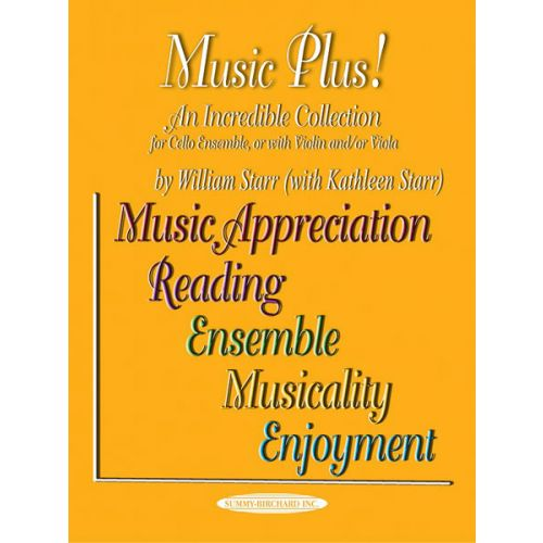 ALFRED PUBLISHING MUSIC PLUS! - CELLO ENSEMBLE