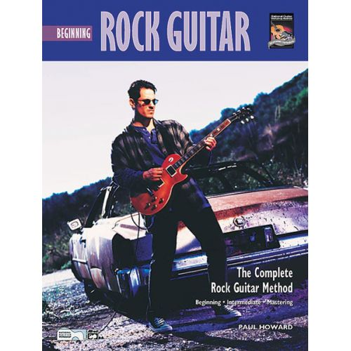 ALFRED PUBLISHING HOWARD PAUL - BEGINNING ROCK GUITAR + CD - GUITAR